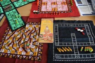 Indische Teilnehmer hatten einige Spiele aus ihrer Heimat mitgebracht.