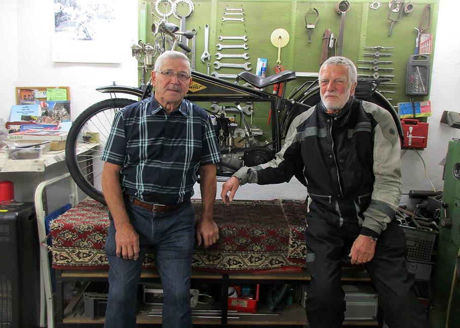 Die Wiederherstellung Eines Heller Motorrads Museenblog Nürnberg