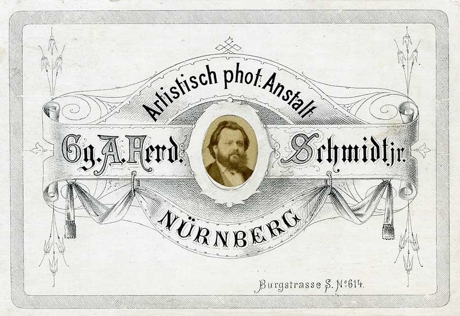Der Nürnberger Fotografie Pionier Ferdinand Schmidt